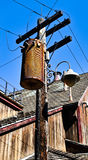 Old Voltage Transformer Royalty Free Stock Photos