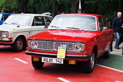 Old Volvo cars at Retro Fest in Moscow Stock Photos