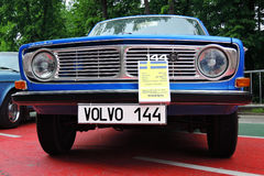 Old Volvo cars at Retro Fest in Moscow Royalty Free Stock Images