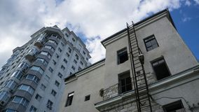 Free Old Vs., New Building Royalty Free Stock Photo - 121183485