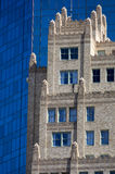 Old Vs. New Contrasting Architecture Styles Royalty Free Stock Photos