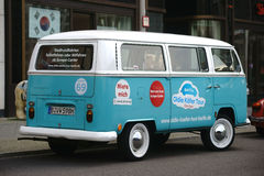 Old VW Bus Royalty Free Stock Photography