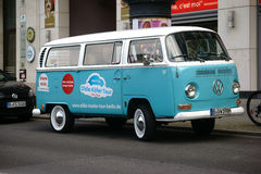 Old VW Bus Royalty Free Stock Photo