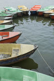 Old waethered boats Stock Photography