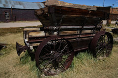 Old waggon 2. Old Waggon in Bodie Royalty Free Stock Image