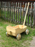 Old waggon. Old  hand made wagon Stock Image