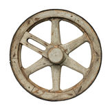 Old waggon wheel Royalty Free Stock Image
