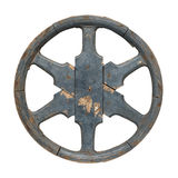 Old waggon wheel Royalty Free Stock Images