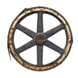 Old waggon wheel Royalty Free Stock Photos