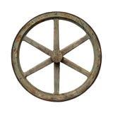Old waggon wheel Stock Photography
