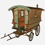 Old Wagon Stock Images