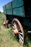 Old wagon. An old wagon in rural wyoming Royalty Free Stock Photo
