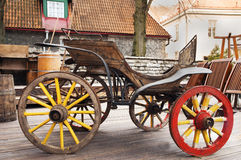 The old wagon Royalty Free Stock Photo
