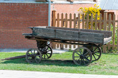 Old wagon Stock Photo