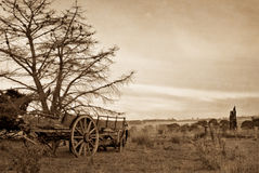 Old wagon Stock Image