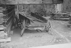 Old wagon Royalty Free Stock Images