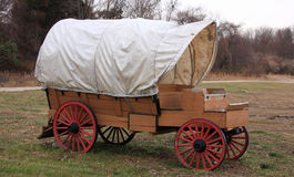 Old Wagon. Old wild west classic wood wagon Royalty Free Stock Images