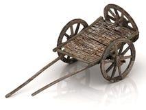 Old wagon cart Stock Image