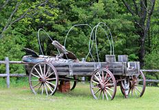 Old Wagon Royalty Free Stock Photo