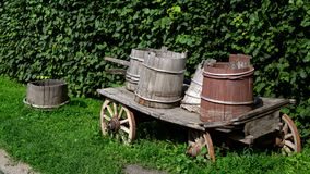 Old wagon Stock Photography