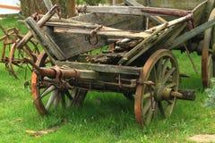 Old wagon rides Stock Image