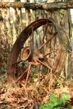 Old Wagon Wheel Royalty Free Stock Photography