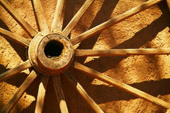 An old wagon Wheel Stock Photos
