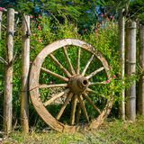 An old wagon wheel Royalty Free Stock Image