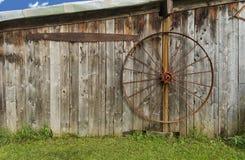 Old Wagon Wheel Stock Image