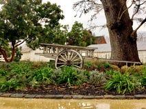 Old Wagon. At winery in Napa Valley California royalty free stock image