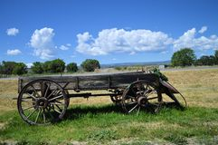 An old wagon Stock Photography
