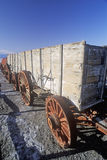 Old Wagons, Death Valley, California Stock Photo