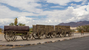 Old wagons in Death Valley National Park USA Royalty Free Stock Photography