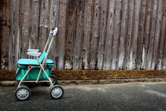 Old walker cart Royalty Free Stock Image