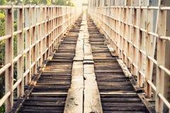 Old Wood Bridge Royalty Free Stock Image