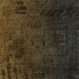 Old Wall. A background of an old wall with grunge design royalty free illustration