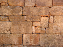 Old wall. Of greek building Royalty Free Stock Photography