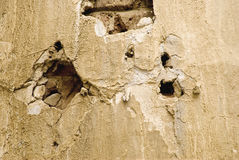 Old wall. Fragment of old wall with texture Royalty Free Stock Images