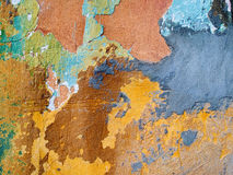 Old wall. Old speckled wall texture background Royalty Free Stock Photography