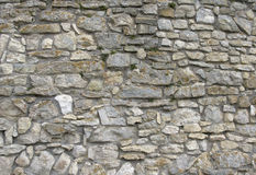 Old wall. From a stone Stock Image