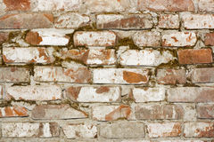 Old wall. Grunge brick wall texture close-up Royalty Free Stock Photography
