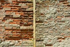 Old Wall. Old brick wall Royalty Free Stock Photo
