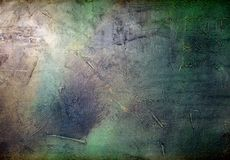 Old wall with , acrylic,  brush strokes texture in shades of gre Stock Photography