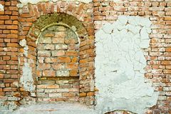 Old wall of the ancient building Stock Photography