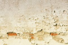 Old wall backdrop Royalty Free Stock Photo