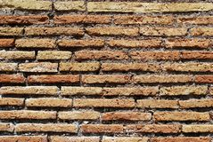 Old wall background. Photo taken in Rome city. Stock Photo
