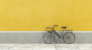Old wall with bicycle Stock Photography
