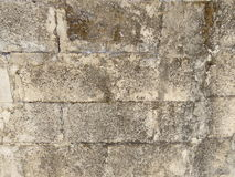 Old wall from blocks Stock Photo