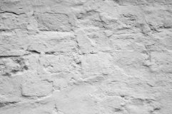 Old wall of brick background Royalty Free Stock Photos