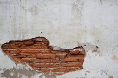 Old wall brick cracks art retro background Stock Photography
